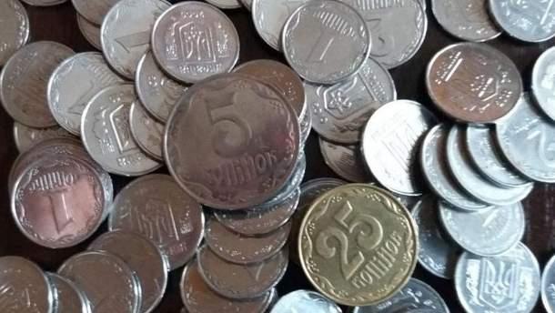 В Україні зупиняють карбування дрібних монет