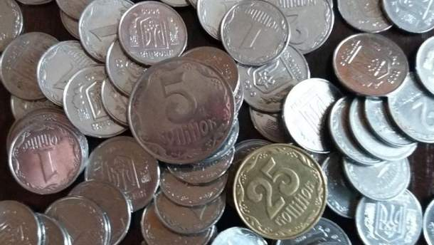 В Украине останавливают чеканку мелких монет