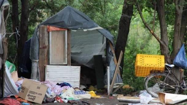 Нападение на лагерь ромов во Львове произошло вечером 23 июня