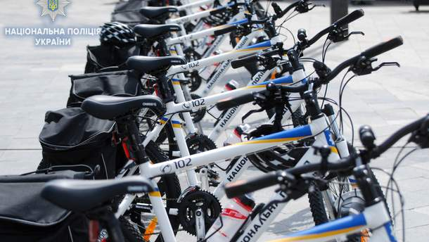 Туристична поліція Одещини отримала спеціально обладнані велосипеди