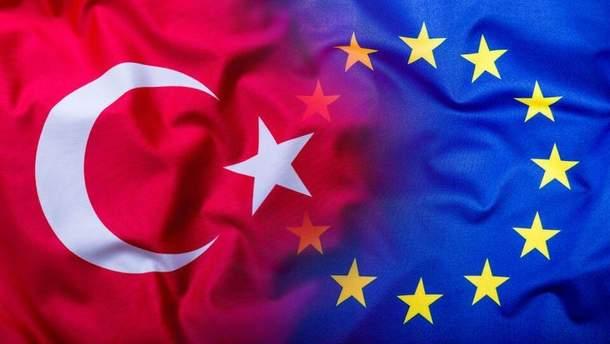 ЕС недоволен действиями Эрдогана