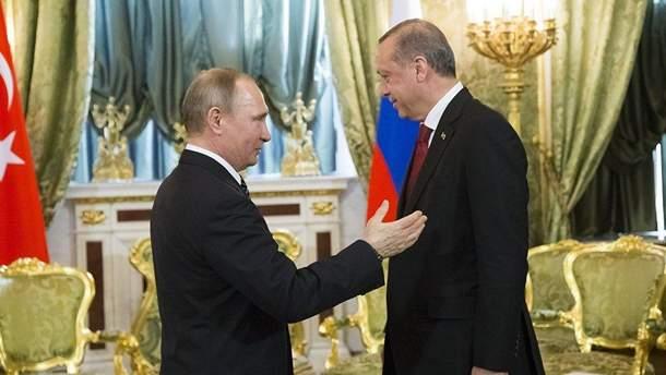 Путин хочет сблизиться с Эрдоганом, что отдалить Турцию от ЕС