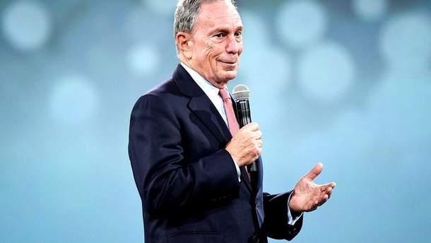 Майкл Блумберг будет баллотироваться в президенты США
