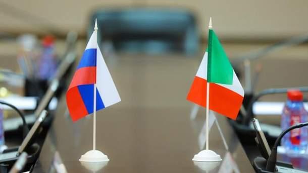 Италия против санкций