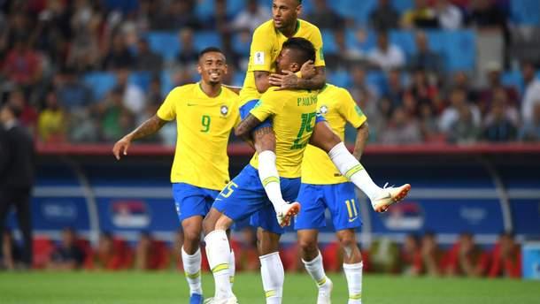 Сербия – Бразилия результат матча Чемпионата мира 2018