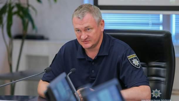 Глава Нацполіції  Сергій Князєв