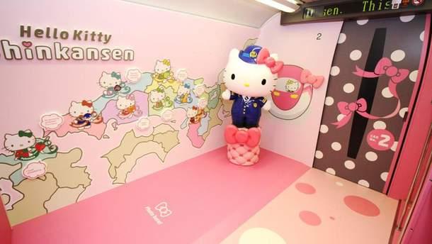 В Японії запустять поїзд Hello Kitty