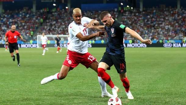Хорватія – Данія результат матчу ЧС-2018