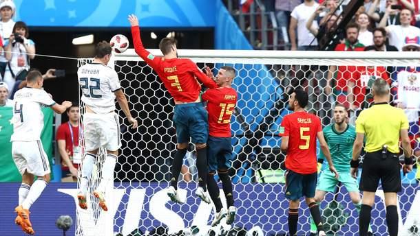 Іспанія – Росія: відео голів матчу
