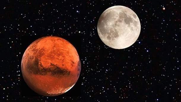 Две луны на небе: что это за явление и когда оно происходит картинки