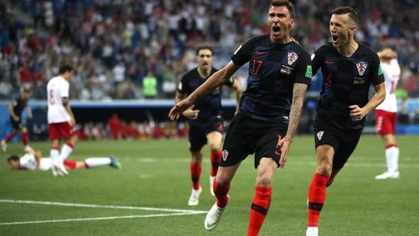 Хорватія – Данія відео голів матчу