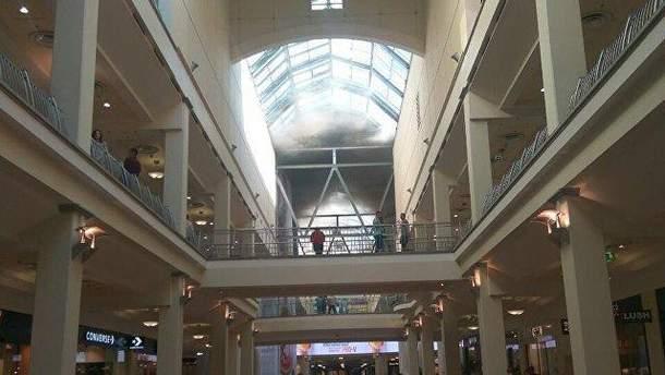 У центрі Москви горів торговий центр