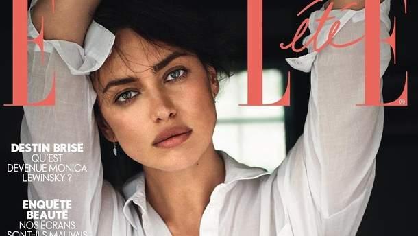 Ирина Шейк на обложке журнала