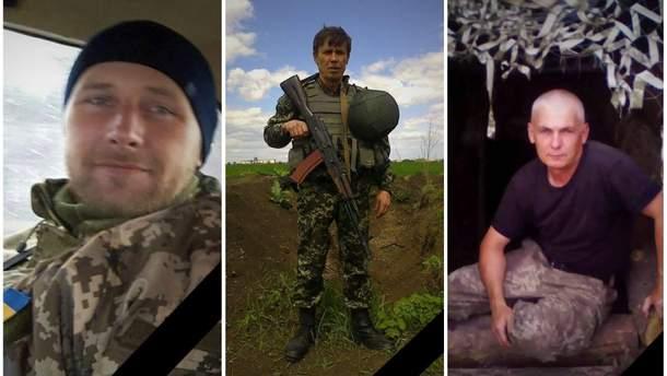 На Донбасі загинули три українські бійці