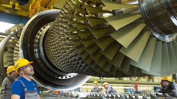РФ проверила турбину Siemens вКрыму
