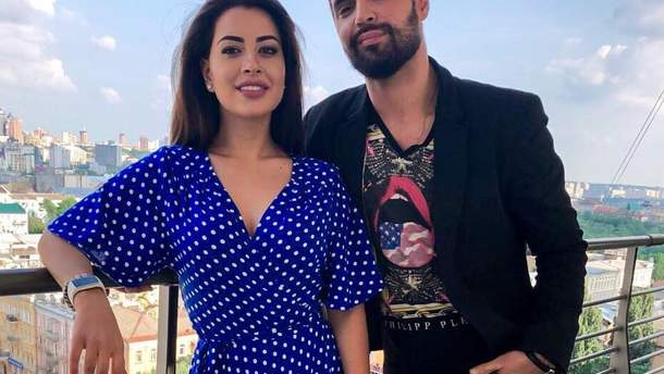 Віталій Козловський з екс-нареченою Раміною