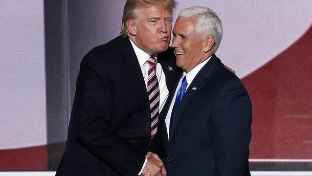 Дональд Трамп та Майк Пенс