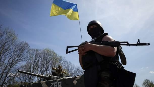 На Донбассе ранили одного украинского бойца