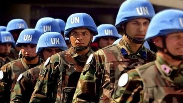 Порошенко раскритиковал позицию Путина относительно миротворческой миссии ООН в Донбассе