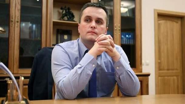 Холодницкий назвал условия своей отставки