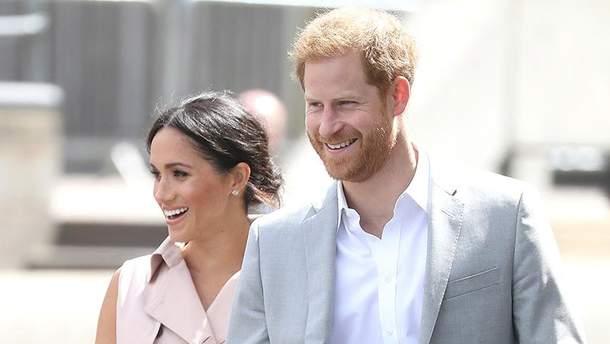 Меган Маркл и принц Гарри в Лондоне