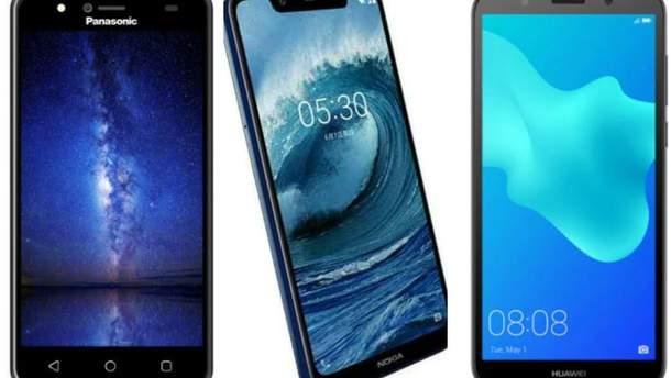 ТОП-5 нових смартфонів, що коштують близько ста доларів