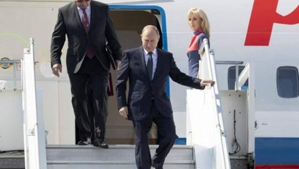 Самолет российского президента 16 июля нарушил воздушное пространство Эстонии