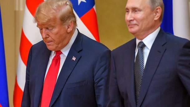 Про що свідчить мова тіла Трампа і Путіна під час зустрічі у Гельсінкі: пояснення експерта