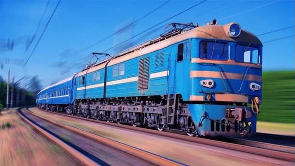 Машинисты спрятали тело сбитой поездом женщины