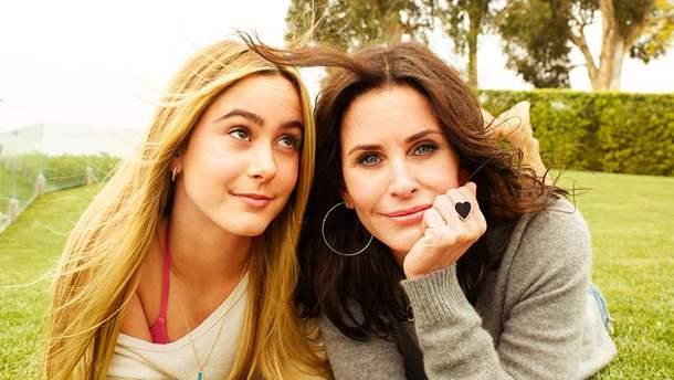 Кортни Кокс и ее дочь Коко