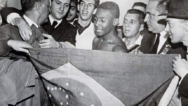 Пеле стал настоящей звездой ЧМ-1958