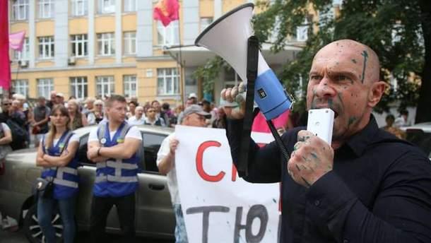 Кива написал заявление в полицию на Шабунина