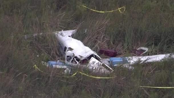 В воздухе над Флоридой столкнулись два самолета