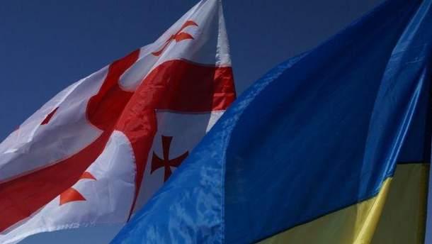Украина и Грузия договорились об ускорении отмены визового режима