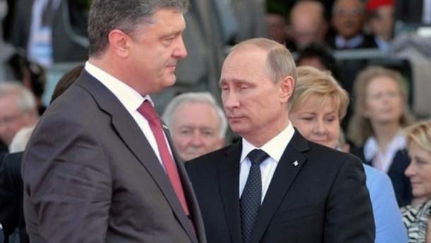 Порошенко і Путін ведуть свою гру?
