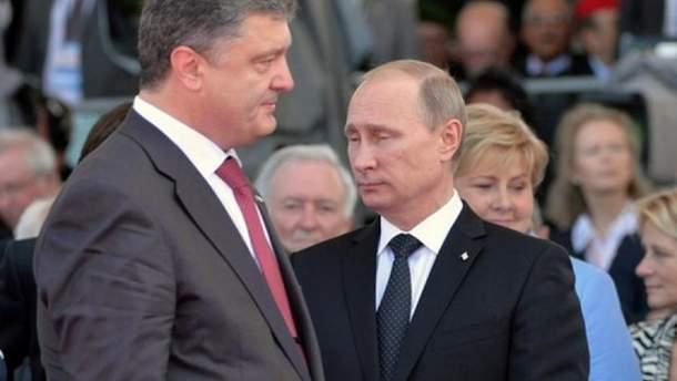 Порошенко и Путин ведут свою игру?