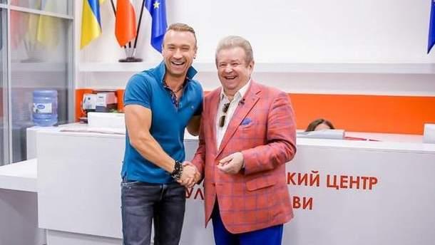 Олег Винник и Михаил Поплавский