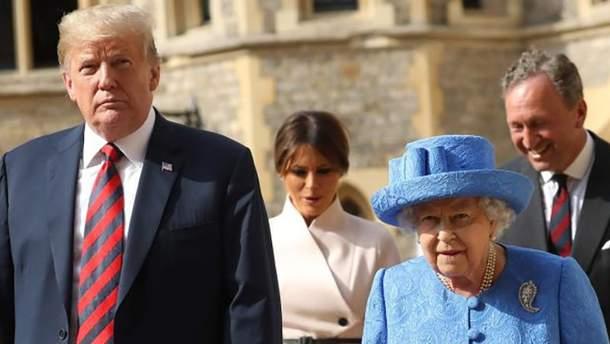 Королева Єлизавета ІІ потролила Дональда Трампа