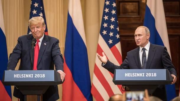 Встреча Путина и Трампа в Хельсинки 16 июля