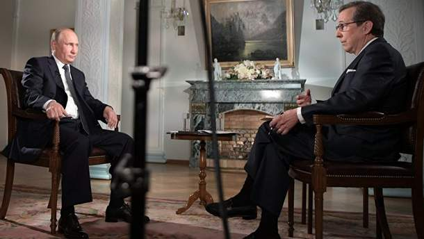 """Ведучий Кріс Воллес розсердив Путіна своїми """"гострими"""" питаннями"""