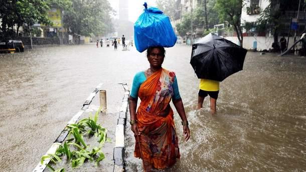Це найпотужніші мусонні дощі в Індії за останні 64 роки