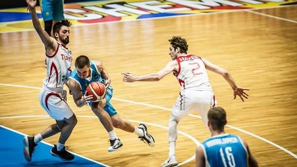 Сборная Украины U20 проиграла Турции на Чемпионате Европы