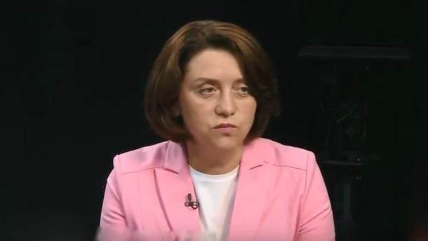 Вице-президент Ассоциации водоканалов Ольга Бабий