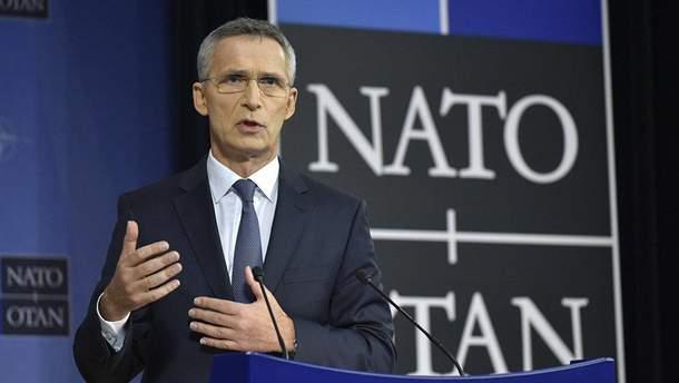 Столтенберг прокоментував слова Путіна про загрозу вступу Грузії у НАТО