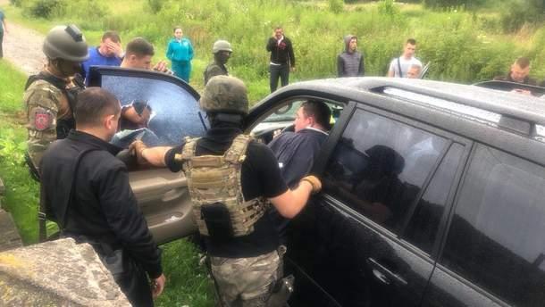 Задержание Владимира Москаля
