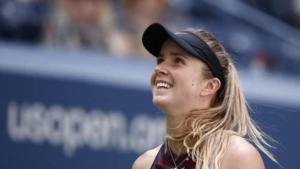 Еліна Світоліна знову виступить на US Open