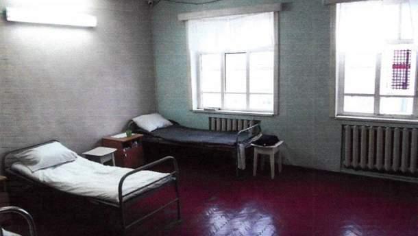 Палата, в которой держат Олега Сенцова в колонии в Лабытнанги