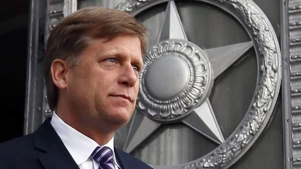 У США обурені запитом Росії щодо допиту Майкла Макфола
