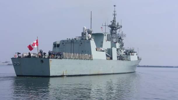 Канадський фрегат протистоятиме російській агресії