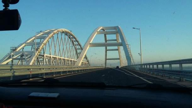 Крымский мост в пик курортного сезона